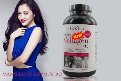 Super collagen +C mang lại vẻ đẹp rạng ngời