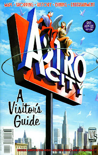 cover of Astro City: A Visitor's Guide (2004). Property of DC comics/Wildstorm.