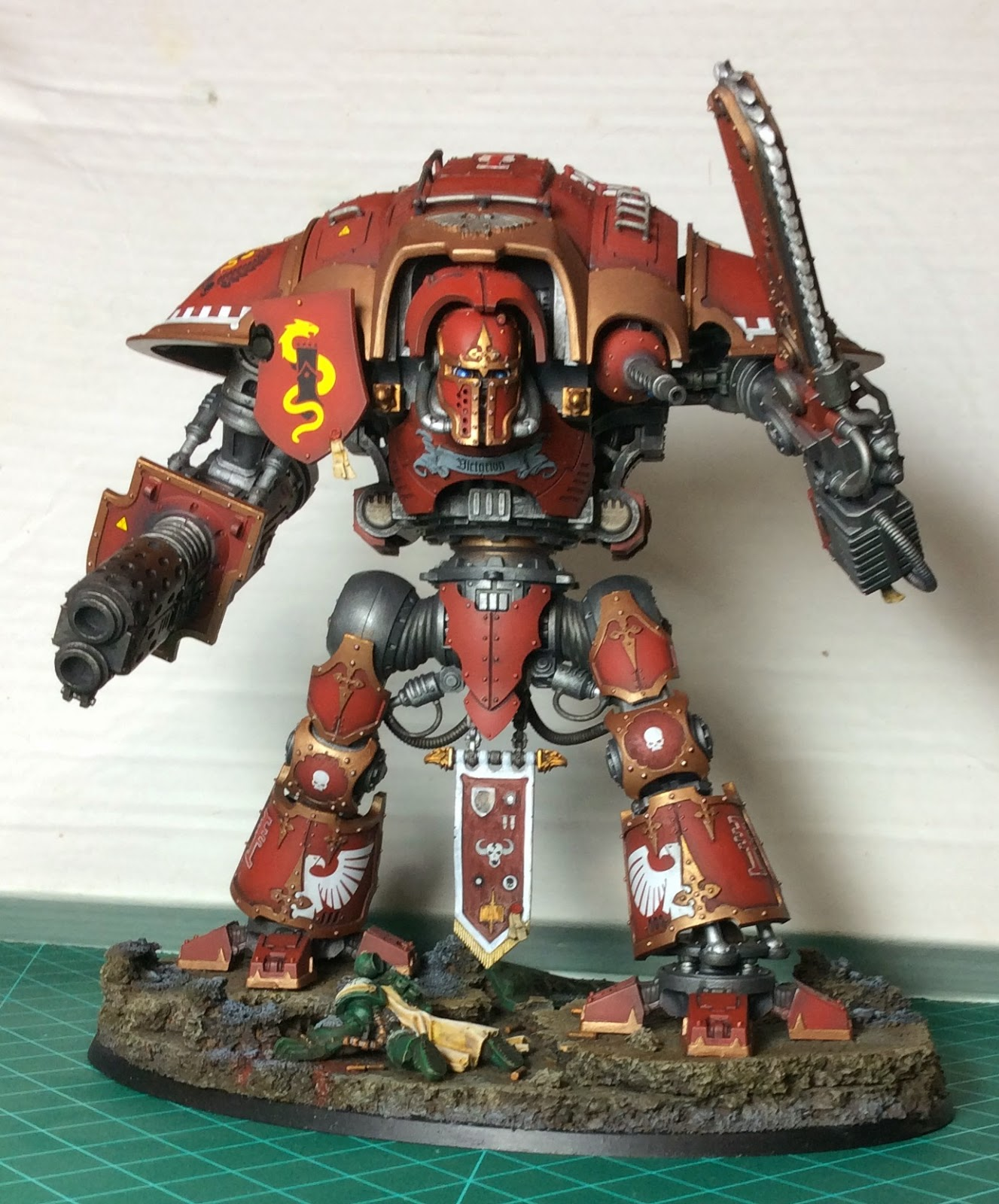 Freeblade Imperial Knight Errant Front