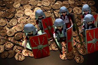 Gehaltstabelle römischer Soldaten