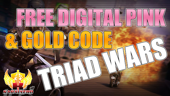 Free Digital Pink Outfit & Gold Code ★ Triad Wars