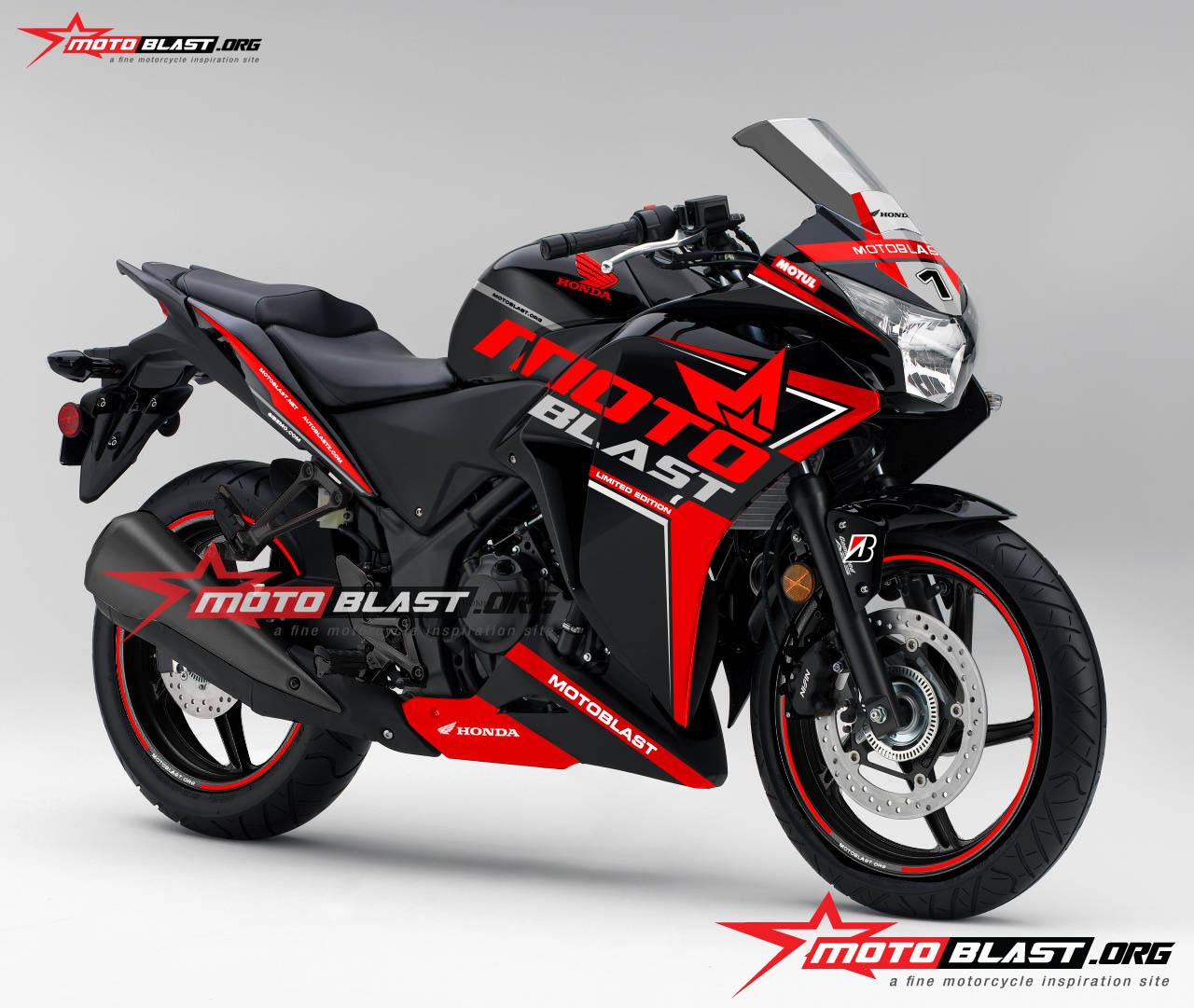 modifikasi cbr 250 thailand10  terbaru