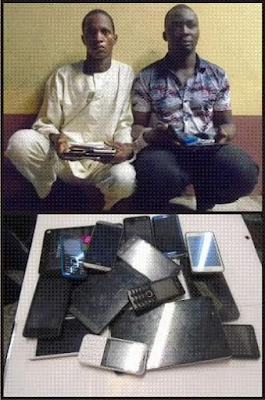 Burglary: RRS nabs 11 over N2.5m worth of stolen phones