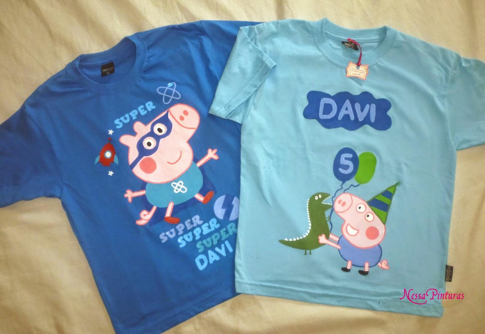 618c6b6bf2 Camisetas Peppa Pig