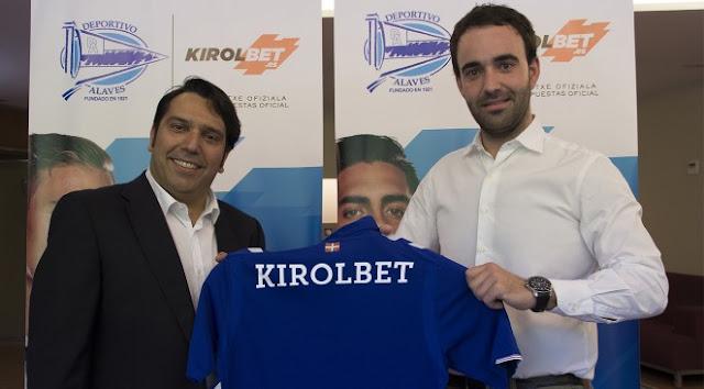 KIROLBET, nuevo patrocinador oficial del Deportivo Alavés