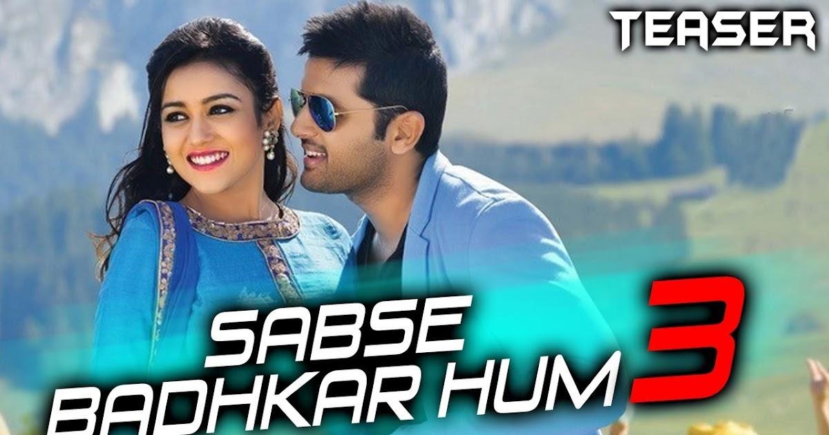 Sabse Badhkar Hum 3 2018 Hindi Dubbed WEBRip 480p 300mb