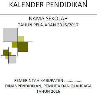Contoh Cover Kaldik 2016/2017