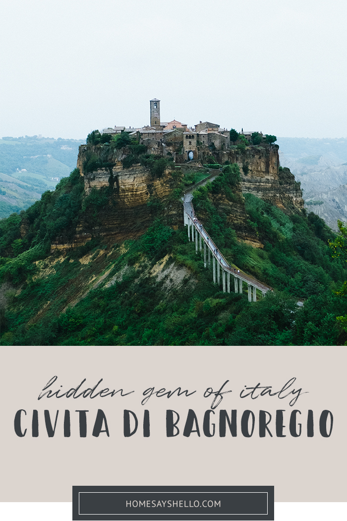 Hidden Gem of Italy: Civita di Bagnoregio