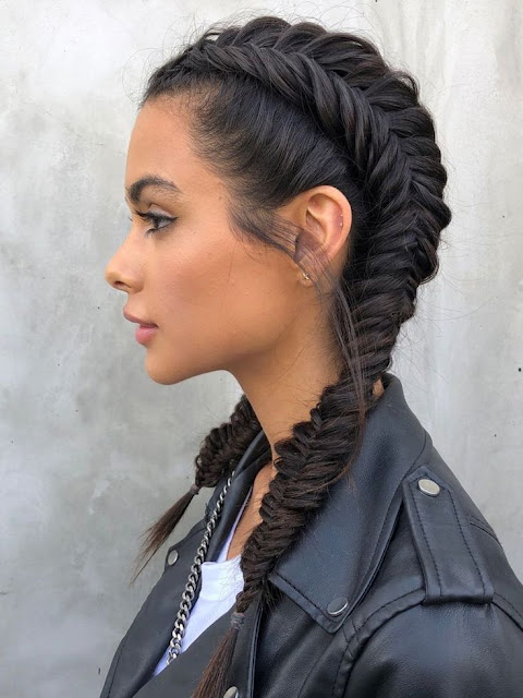 47 Best African Fishtail Braids Hairstyle 2019 For Black