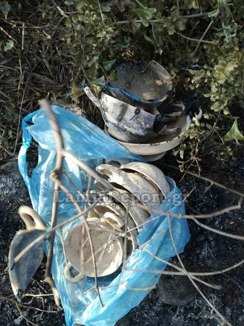 Φθιώτιδα: Η πυρκαγιά αποκάλυψε κρυμμένο αρχαίο θησαυρό!