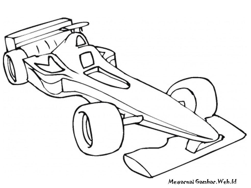 Gambar Mewarnai Mobil Related Keywords & Suggestions