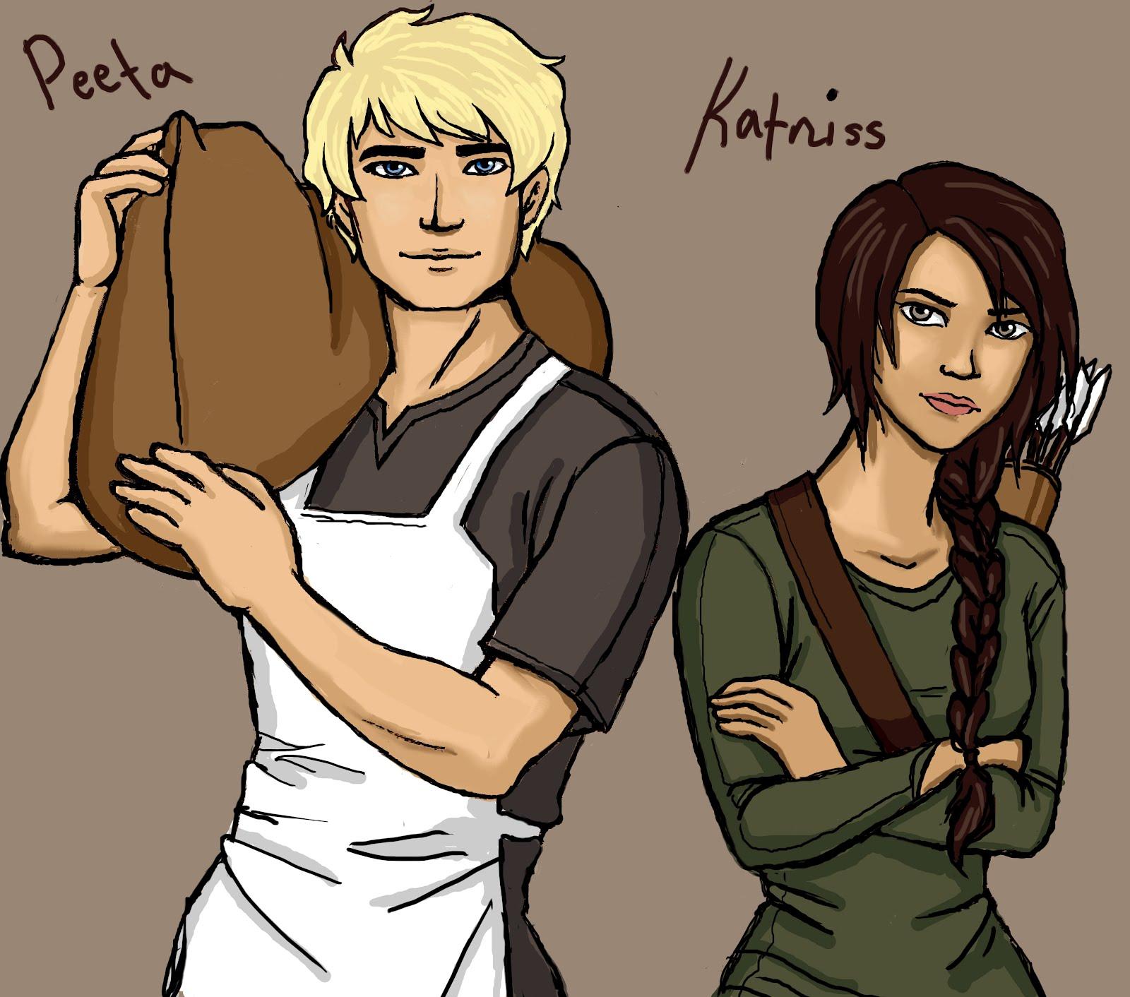 Hunger Games Fan Art Katniss And Peeta Kim Kasch Blogsite - A...