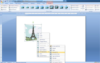 Pada saat menggunakan program aplikasi microsoft office word Cara Memasukan Gambar Pada Microsoft Office Word