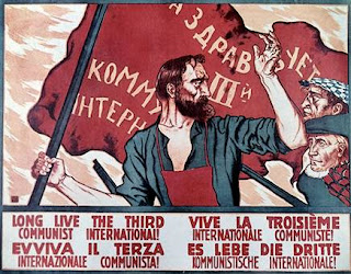 Affiche de propagande pour l'Internationale Communiste