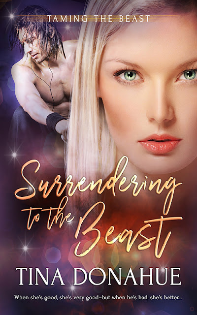 A good fairy who wants to be bad and a sexy satyr who's willing to help - Surrendering to the Beast releases today! Erotic paranormal romantic comedy #TinaDonahueBooks #SurrenderingtotheBeast #EroticParanormalRomanticComedy #GoodFairy #SexySatyr