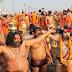 दिव्य कुंभ - भव्य कुंभ को साकार कर रहा श्रद्धालुओं का जन सैलाब   Divine Kumbh - Mass Kumbh of pilgrims making the grand Kumbh