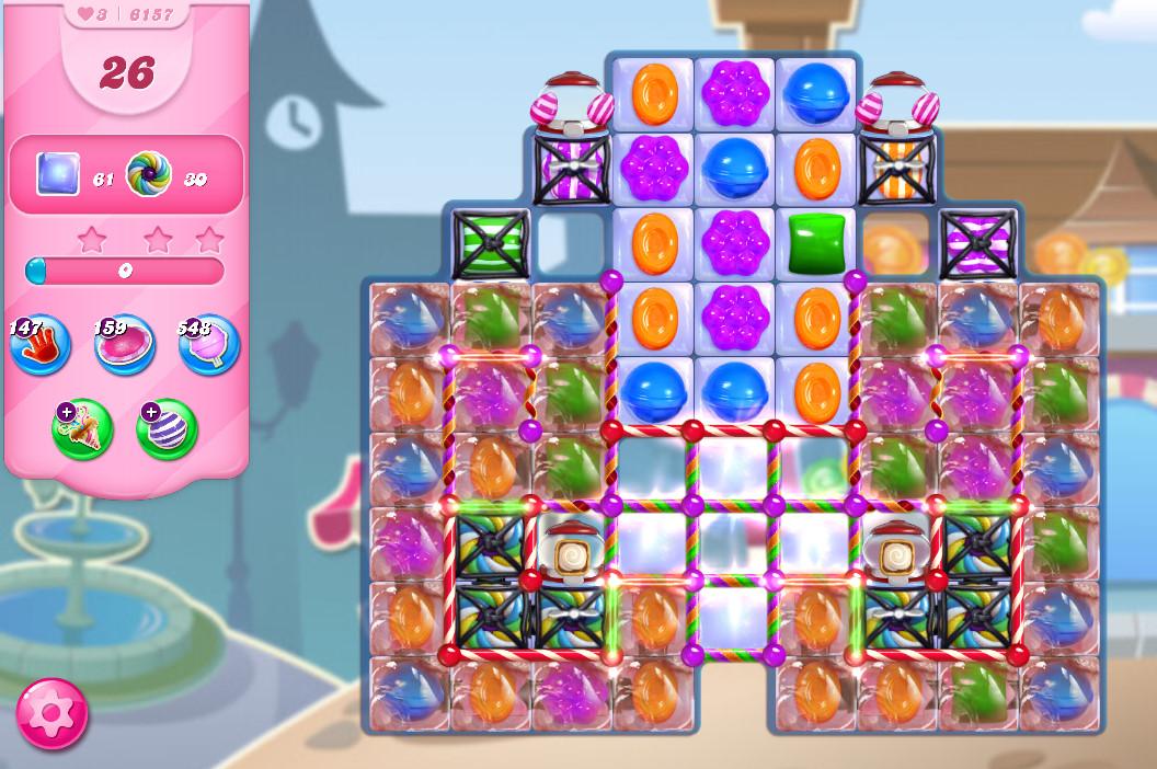 Candy Crush Saga level 6157