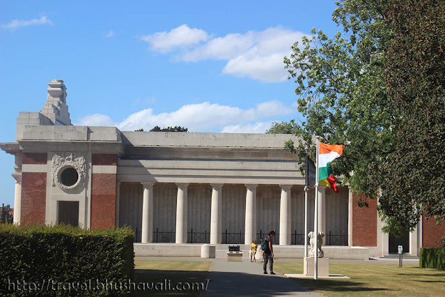 Menin Gate Memorial, Ypres, Belgium