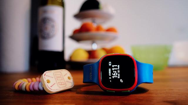 Extra für Kids und deren Eltern gibt es eine spezielle Smartwatch von Alcatel.