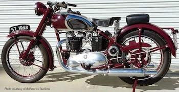 1948Triumph 5T SpeedTwin - Aventura: Sem o Tríptico não entrava!