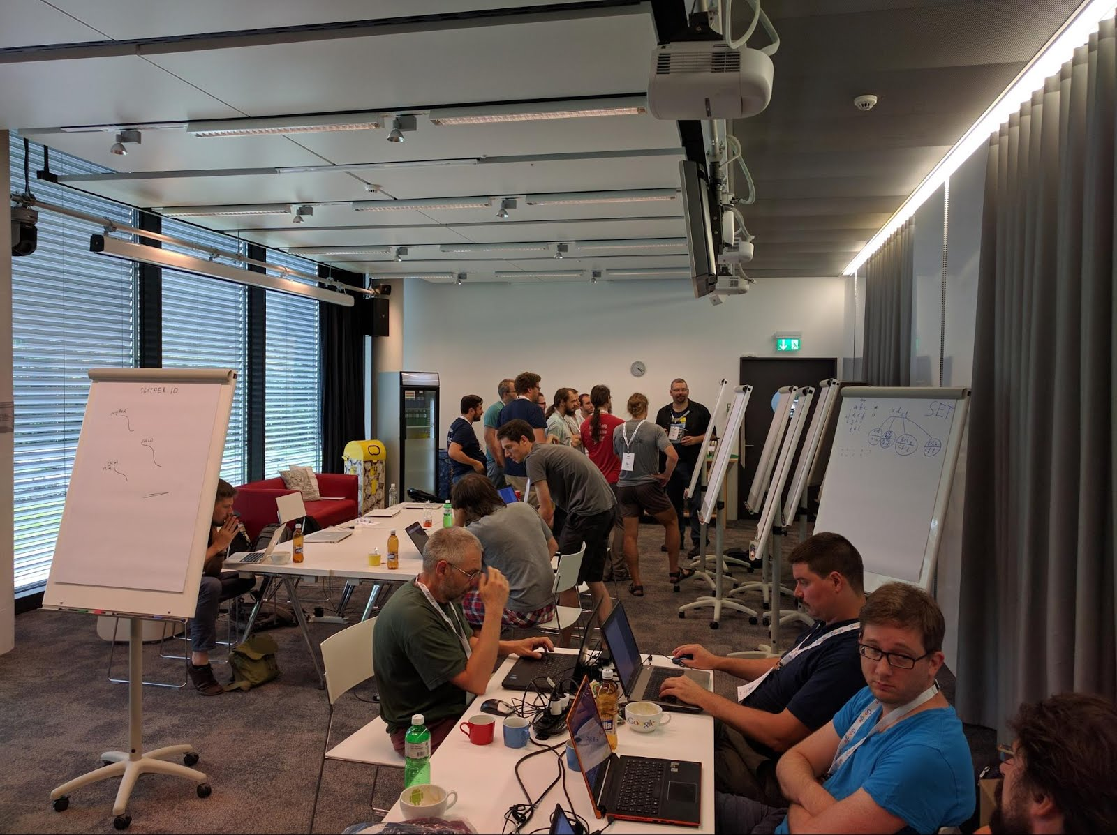 google zurich office address meeting spontaneous minilectures attract smaller crowds another year of haskell hacking in the google zurich office