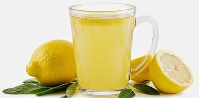 Tips Paskas Lemak Dalam Tubuh Dengan Jahe Lemon