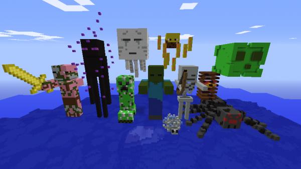 Mobs minecraft