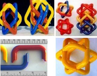 3D yazıcıda ayrı ayrı baskısı yapılmış renkli baskılar