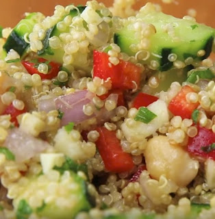 My Favorite quinoa salad Recipe