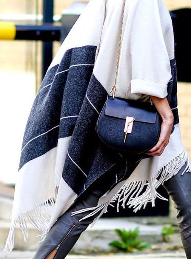 boho chic striped cape chloe bag