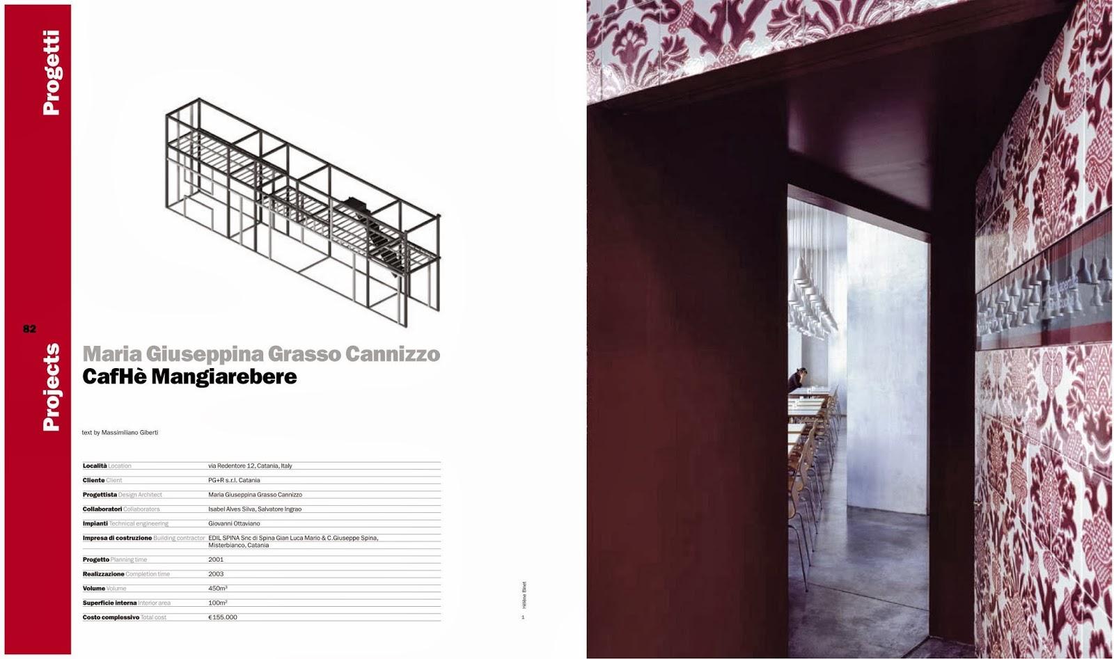 Imprese Di Costruzioni Catania architecture library: cafhè mangiarebere ; catania, italy.