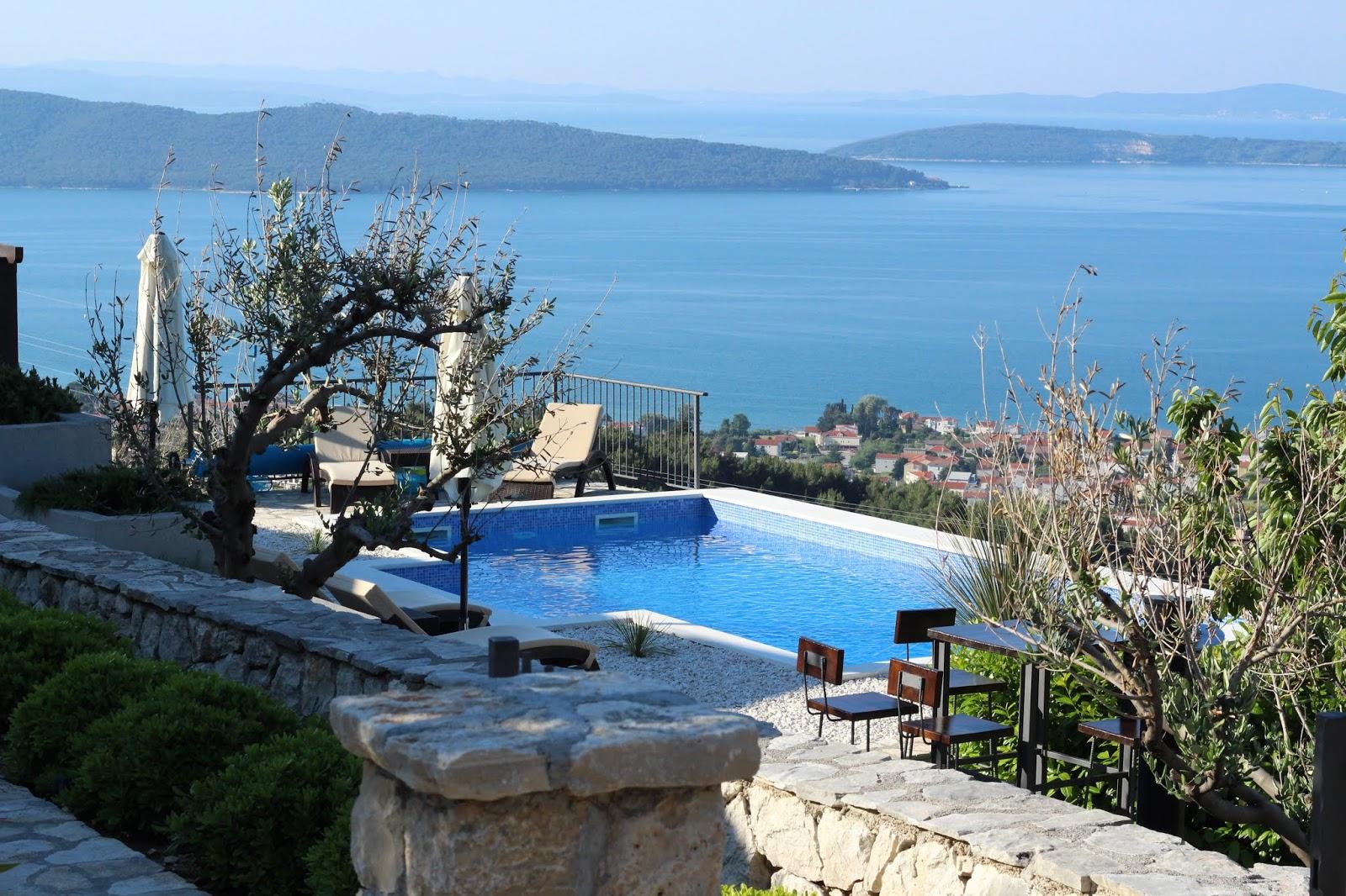 Villa Hill View - Ausblick auf Split und Trogir und unser wunderschöner Pool