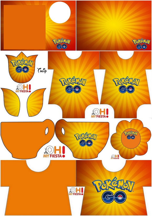 photo regarding Free Printable Pokemon Invitations titled Pokemon Move: Free of charge Printable Invites. - Oh My Fiesta! for