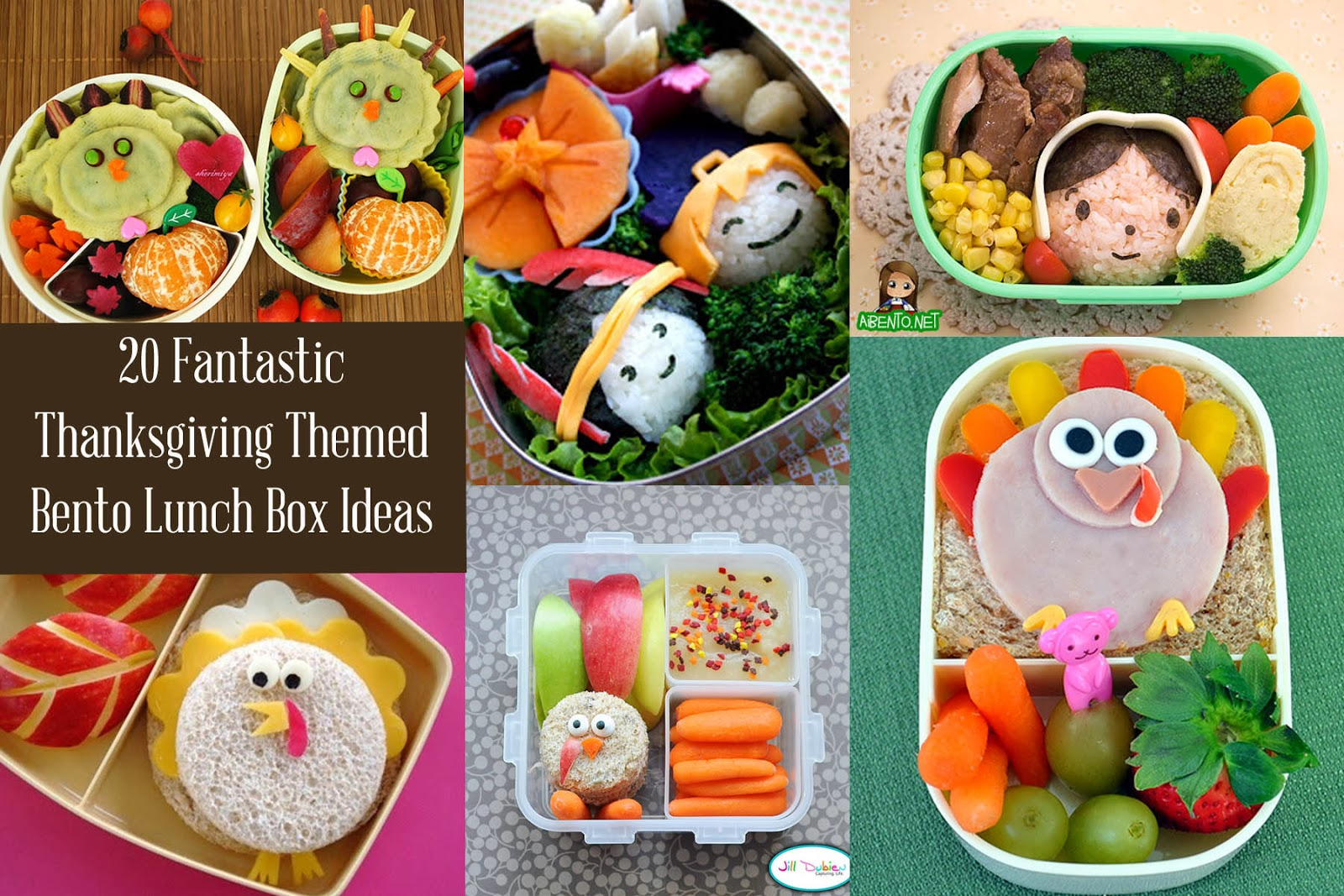 Lunch Ideas 20 Thanksgiving And Fall Bento Box
