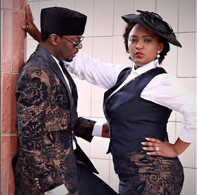 John Njamah And his  Wife, Chrissy Photos