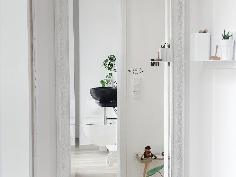 Gäste-WC | Fotoaktion #12von12 - 1 Tag in 12 Bildern | https://mammilade.blogspot.de