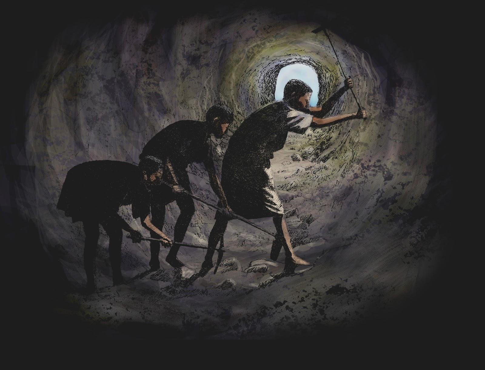 Resultado de imagen para mineria en la antiguedad