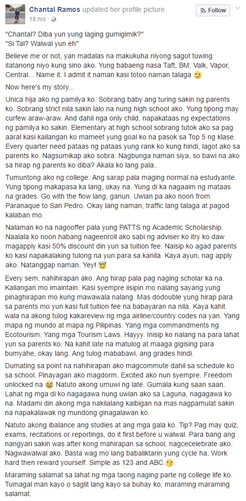 People Are Always Calling Her 'Walwal Girl' and This Is Her Story of How She Graduated Cum Laude That Goes Viral! Never Judge Someone on What You Just See!