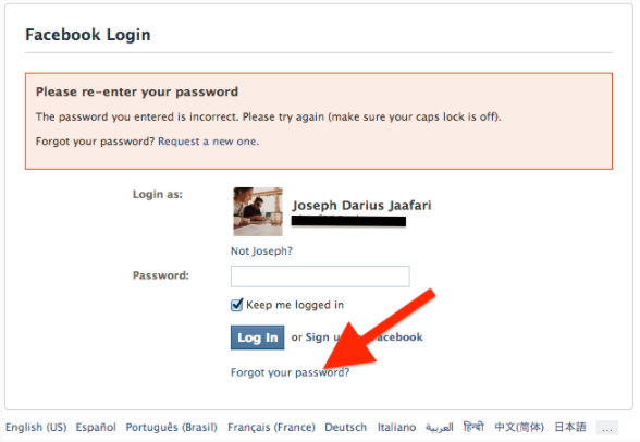 How Do I Find Out My Facebook Password - Jason-Queally