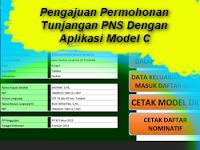 Pengajuan Permohonan Tunjangan PNS Dengan Aplikasi Model C