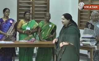 Jayalalithaa casts her vote | TN Election 2016 | Election Fever