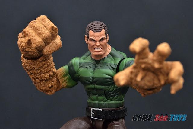 Come See Toys Marvel Legends Series Sandman Baf