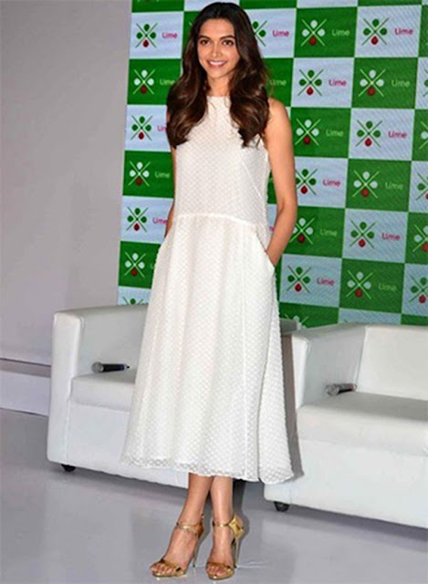 White dress is a wardrobe staple