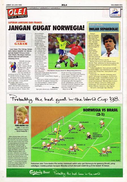PIALA DUNIA 1998 JANGAN GUGAT NORWEGIA