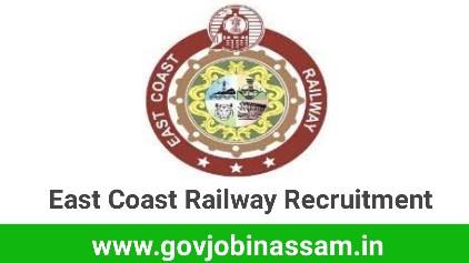 East Coast Railway Recruitment 2018, govjobinassam