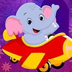 G4K Sedate Elephant Cub Escape