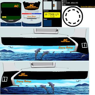 Download Livery Bus Sugeng Rahayu Dolphin SHD