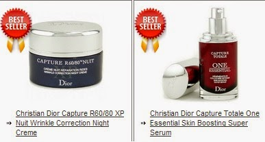 Luxury Parlor products, Christian Dior