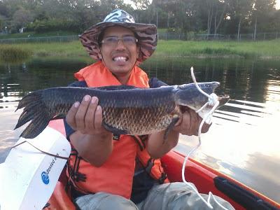 Pesca Guabina en Guataparo