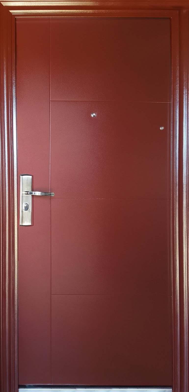 Puertas de seguridad estilo europeo ventanas de aluminio - Puertas seguridad ...
